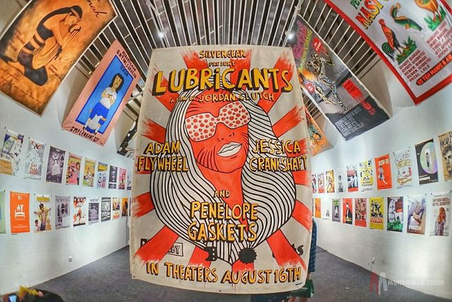 Lubricant Poster MOVIE Pameran Photography Street Photography Hello World Sony A7 Photos Around You Check This Out Jakarta Indonesia JakartaStreet INDONESIA