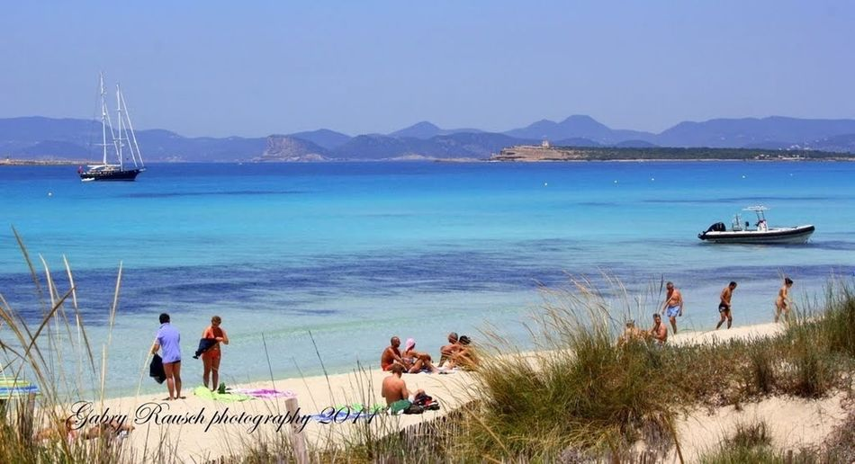 Formentera Blue Sea I❤Formentera Ses Illettes