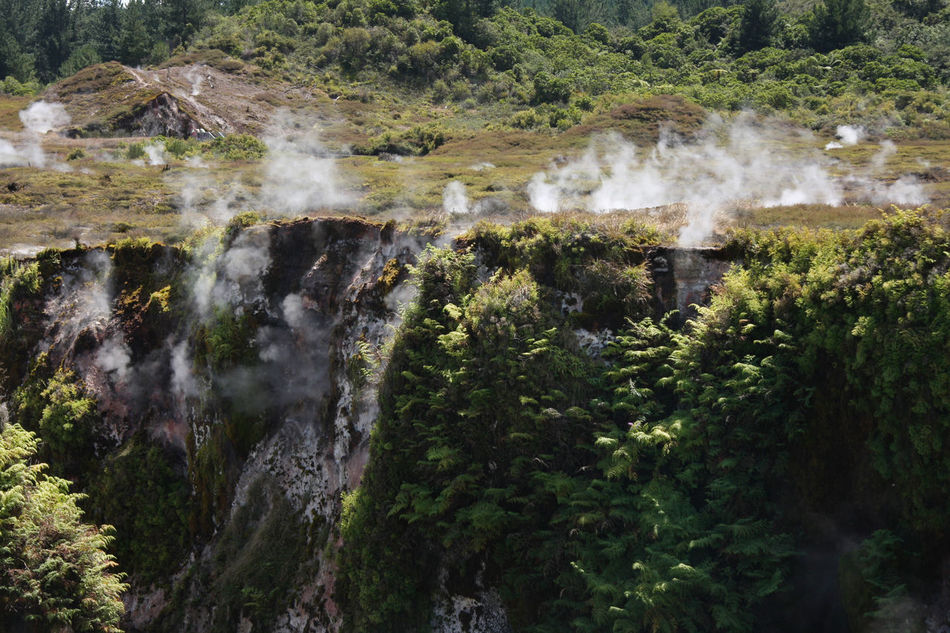 Beauty In Nature Craters Of The Moon Hot Moss Nature New Zealand New Zealand Scenery Prehistoric Scenics Steam Tranquility Thiscouldbenewzealand Rock - Object Rock Formation Nils Nowacki