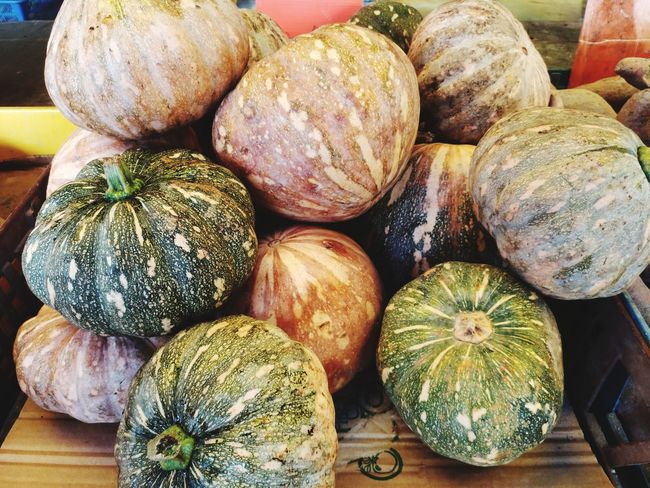 Vegetable Food Healthy Eating No People Large Group Of Objects Pumpkin Close-up Indoors  Freshness