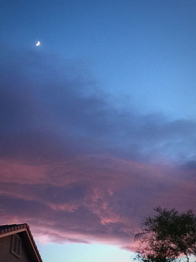 Sky And Clouds Las Vegas Love