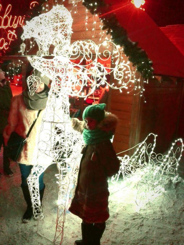 Wintertime Showcase: January Ukraine Marry Christmas Winter Wonderland Winter Night Lights Snow ❄ Child Enjoying Life Ivano-frankivsk