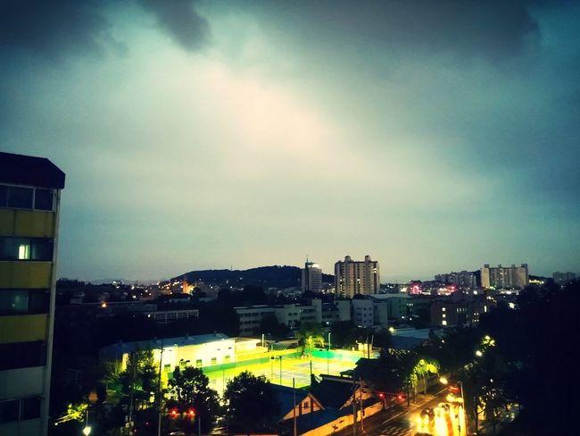 Suwon city .