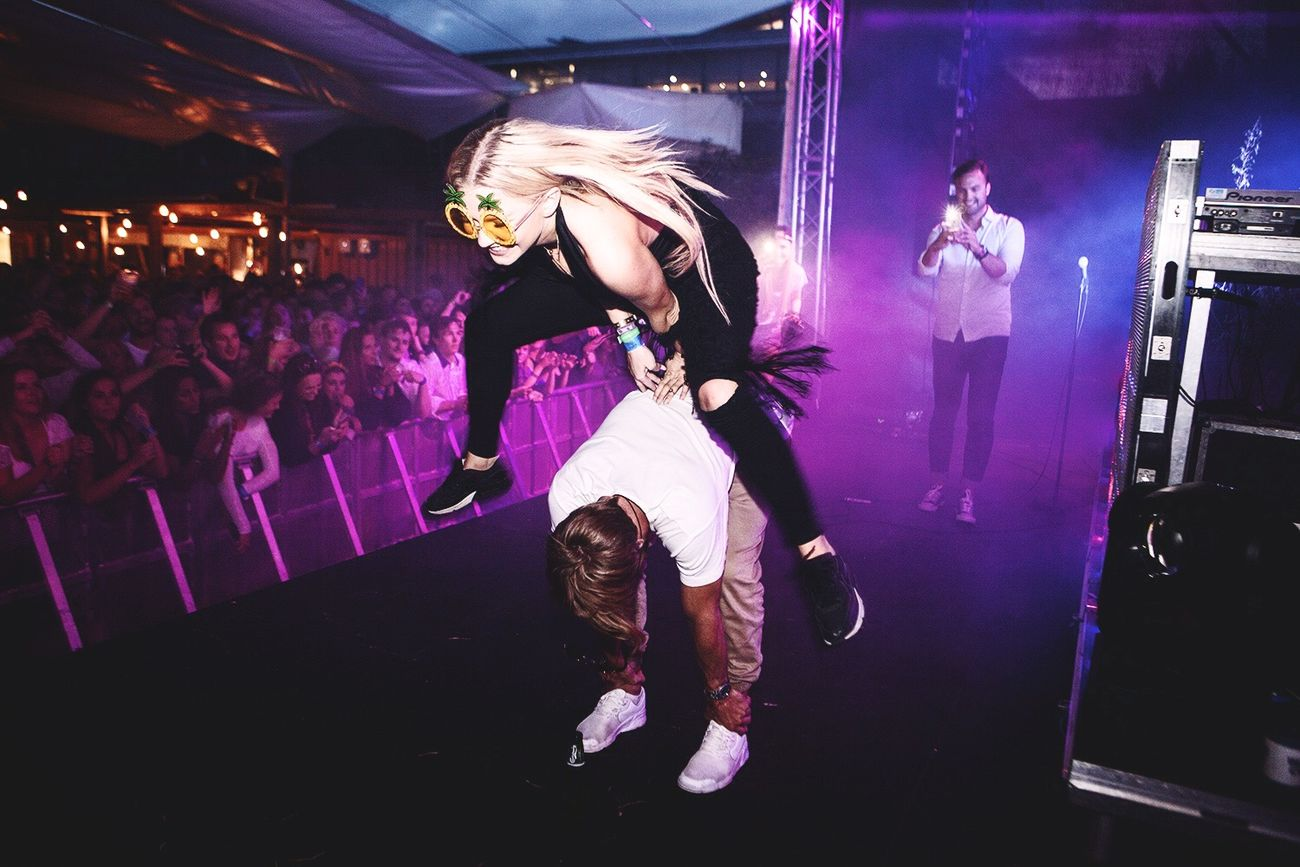 TwentySomething be crazy, follow your dreams and see what might happen. One day you might end up on stage doing what you love! Astrids Astrid S Musicphotography Matoma