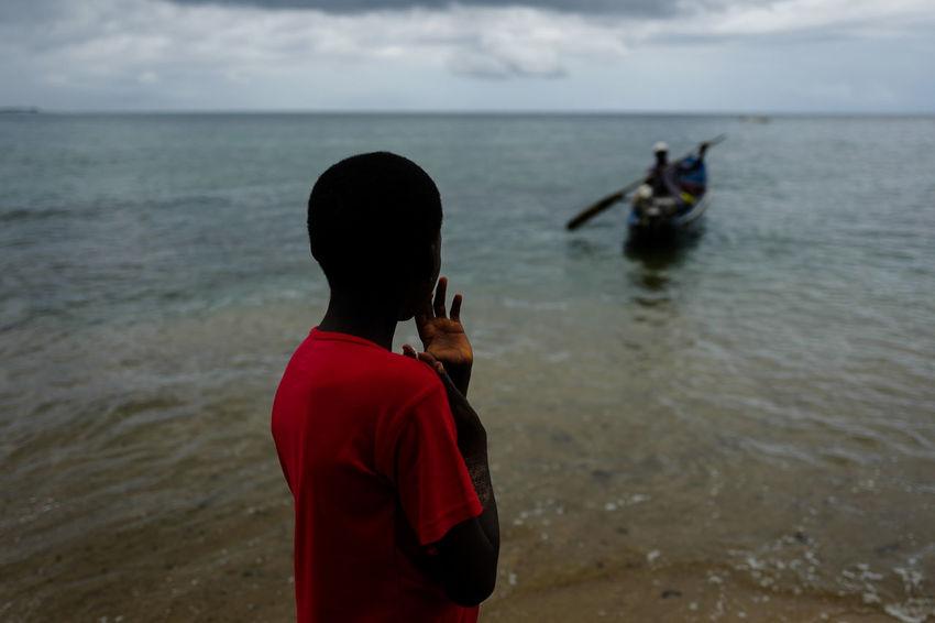 Africa Beach Can Fisherman Fishermen Island Island Life Ocean Paradise Sao Tome Sea Sao Tome Sao Tome E Principe Travel Travelling Water Work Working