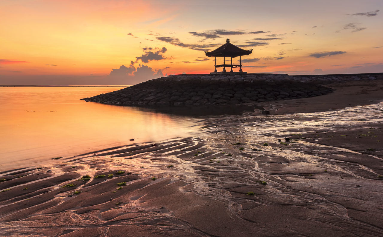 Beautiful stock photos of bali, Beach, Beauty In Nature, Built Structure, Cloud - Sky