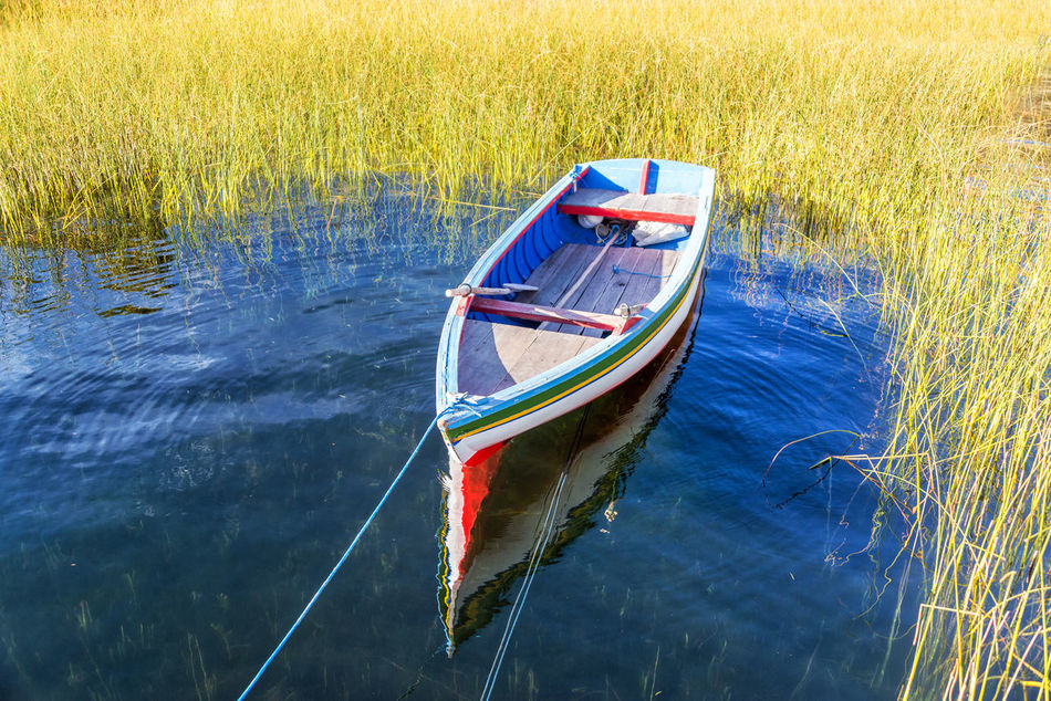 Beautiful stock photos of native american,  Boat,  Bolivia,  Calm,  Day
