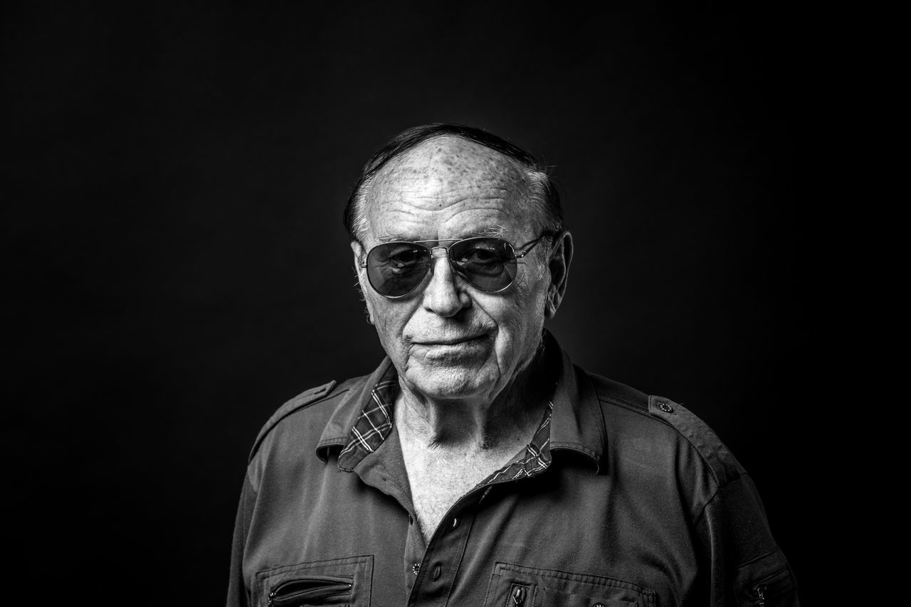 Adult Adults Only Black And White Black Background Blackandwhite Close-up Gray Hair Headshot Human Face Looking At Camera One Man Only One Person One Senior Man Only Only Men People Portrait Portrait Photography Real People Senior Adult Senior Men Studio Photography Studio Shot The Portraitist - 2017 EyeEm Awards