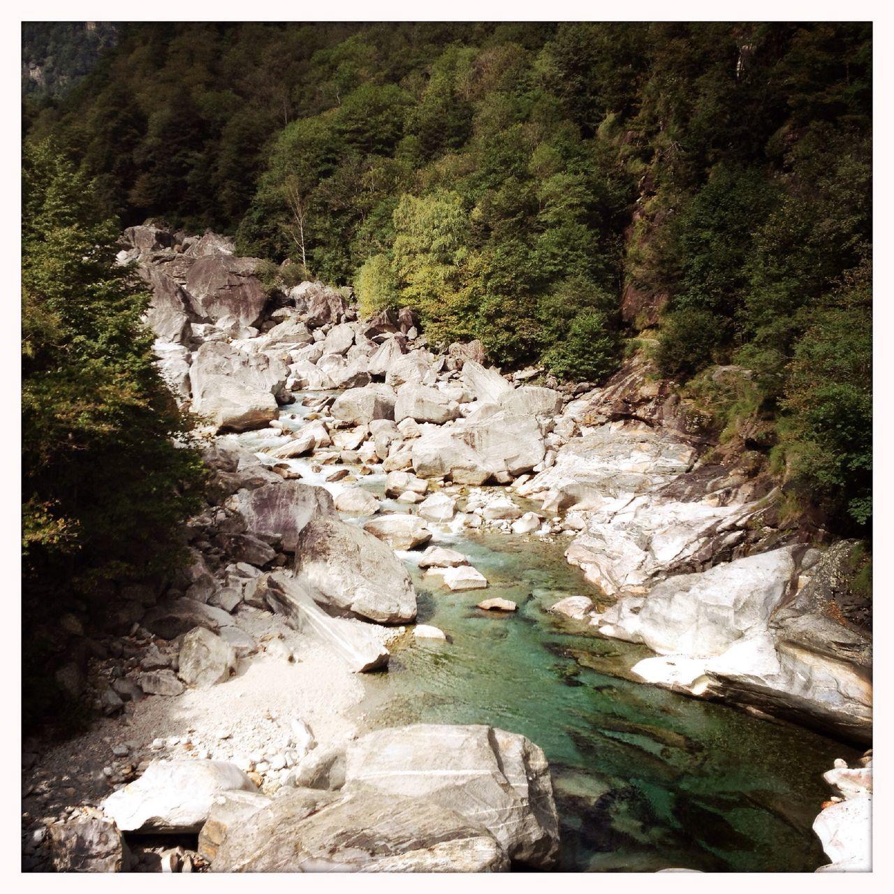 The valley Valle Verzasca in the canton Ticino, Switzerland Ticino Valverzasca Alps Mountains