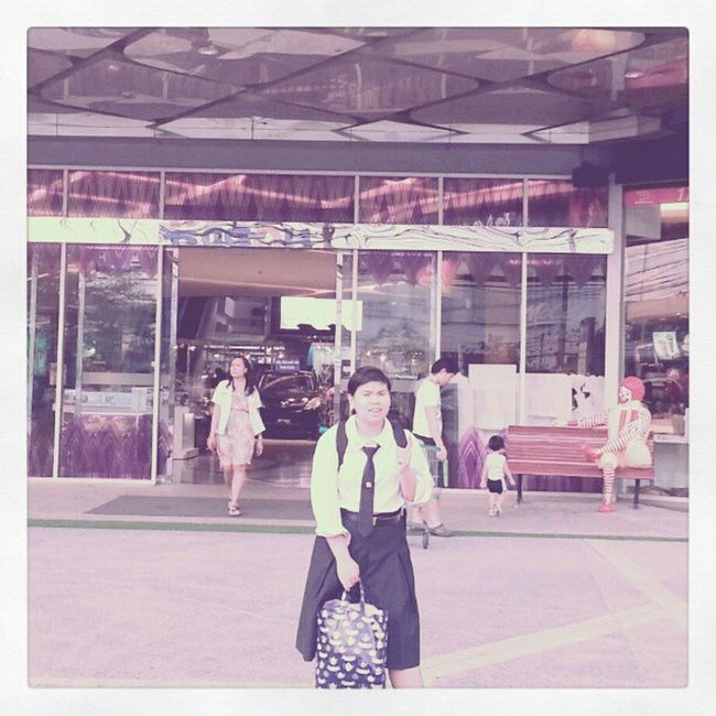 My first time here with @hhaefriend :D