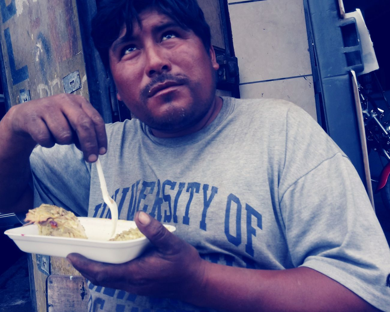 Where's lunch? Snap A Stranger Streetphotography Portrait Lima Perú EyeEm One Person