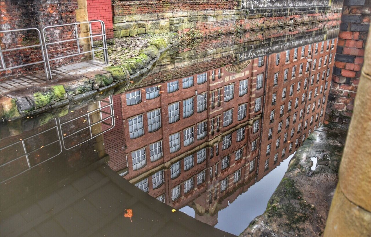 Canal reflections. Embrace Urban Life Brick Wall Architecture Built Structure No People Day Building Exterior Outdoors Water Getty X EyeEm Canal Eye4photography  Reflections In The Water EyeEm Gallery Architecturelovers Reflection EyeEm Best Shots City Life Architecture Reflected Glory Urban Landscape EyeEmBestPics Water Reflections EyeEm Masterclass Urban Reflections Adapted To The City
