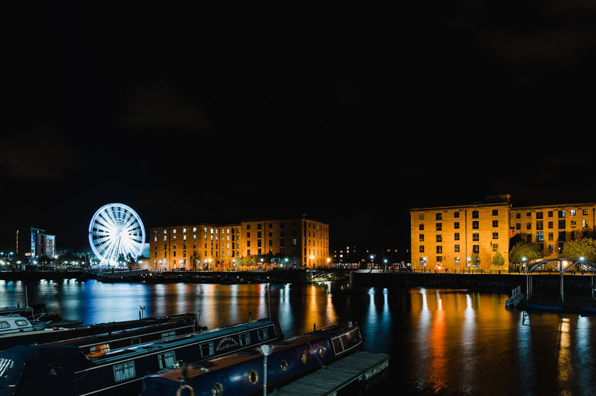 England 🇬🇧 England 🌹 England, UK Liverpool Liverpool England Liverpool Docks Liverpool, England Architecture Building Exterior Built Structure City Cityscape England England🇬🇧 Enjoying Life Ferris Wheel Illuminated Night No People Outdoors Sky Travel Destinations Urban Skyline Water