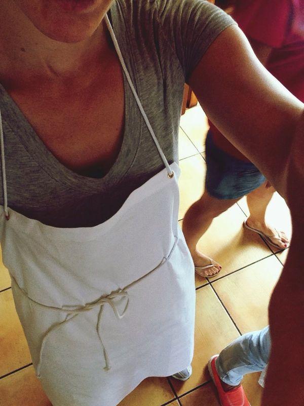I am cooking (haha)