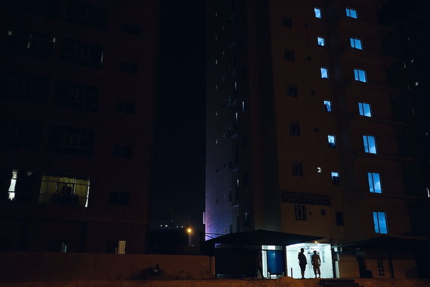 Night City Illuminated People Architecture Built Structure Lifestyles Large Group Of People Nightlife Real People Adult Indoors  Adults Only Building Exterior Ice Rink Cityscape Politics And Government Only Men Young Adult Yoonjeongvin EyeEm Ready   Kuwait Streetphotography Kuwaitstreetphotography