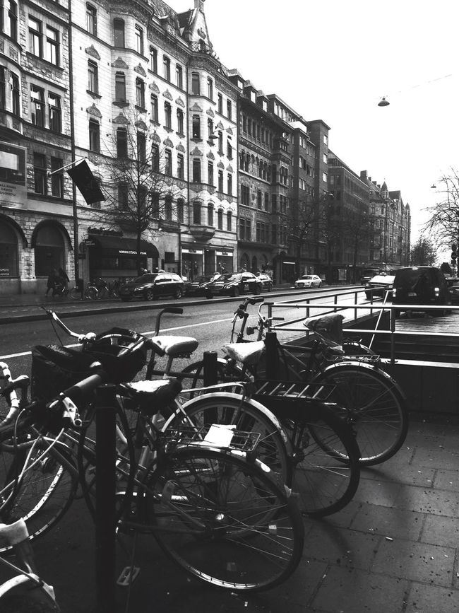 Street Streetphoto_bw Street Life Streetphotography Town Stockholm Streetphotography_bw EyeEm Gallery EyeEm Best Shots - Black + White Street Photo Bicycles Streetview Street Photography Eyeemphotography Östermalm Blackandwhite Photography Bkack&withe Black And White Collection