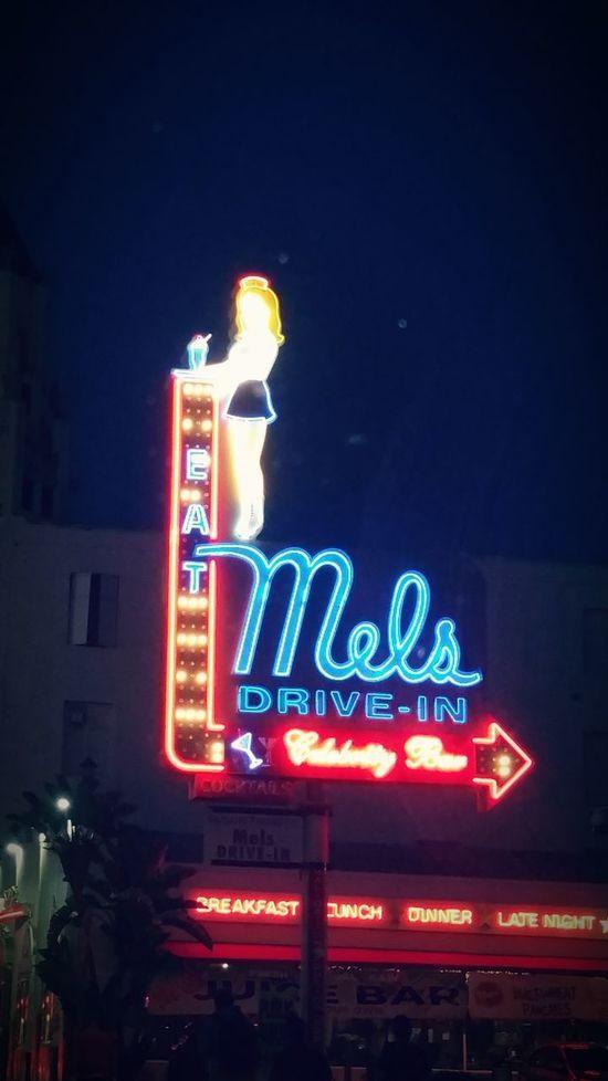 Grub Lights Mel's Drive In Americana