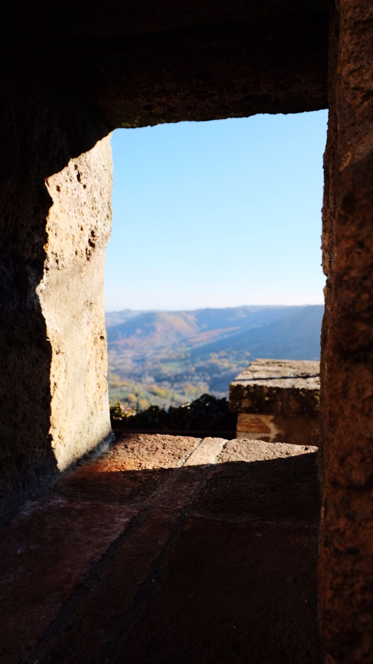 Sky Built Structure Architecture History No People Day Nature Indoors  Orvieto, Italy Outdoors Clear Sky Blue Rose Window Window Nature Beuty Of Nature Civita Civita Di Bagnoregio