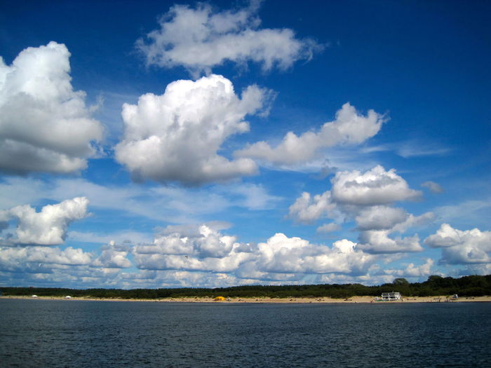Palanga on a summer day, 2014. Baltic Sea Baltic Countries Cloudscape Lithuania Lithuania Nature Pier Sunny Baltic Coast Baltic Coast Line Beach Beauty In Nature Clouds Day Landscape Nature No People Outdoors Palanga Sea Shore Sky Summer Sunny Day Water