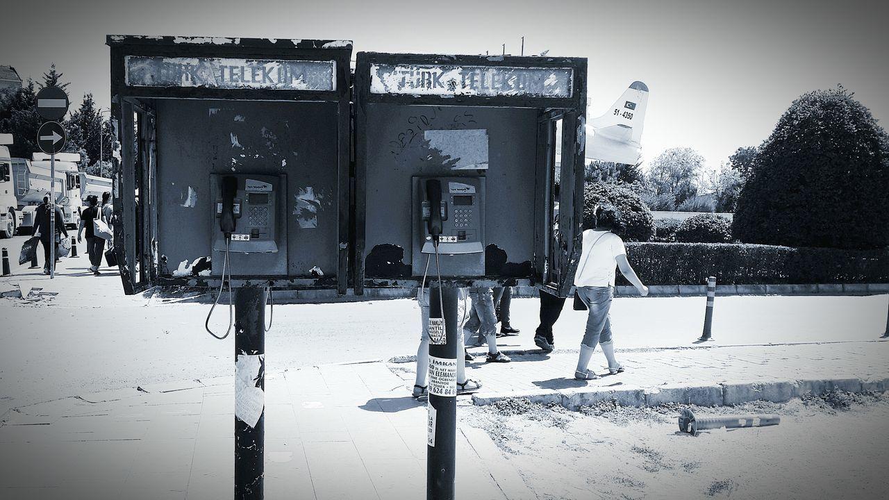 Turk Telekom 😊 Telephone Box Birazda Gri Hayat