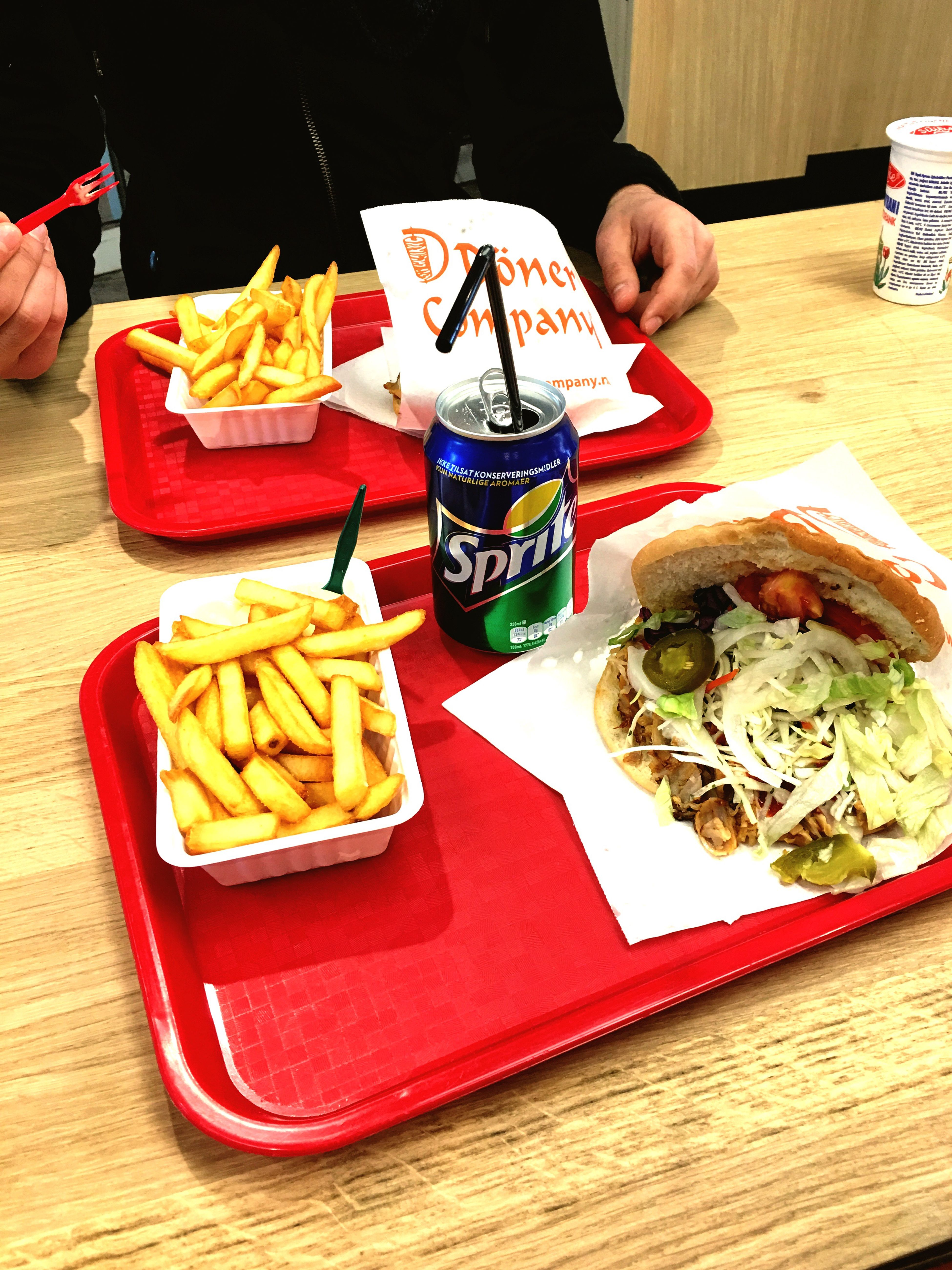 Show Us Your Takeaway! @Döner Company Hello World IPhoneography The Netherlands MyVistaNL Hanging Out The Hague Den Haag Turkish Take A Way Yummy