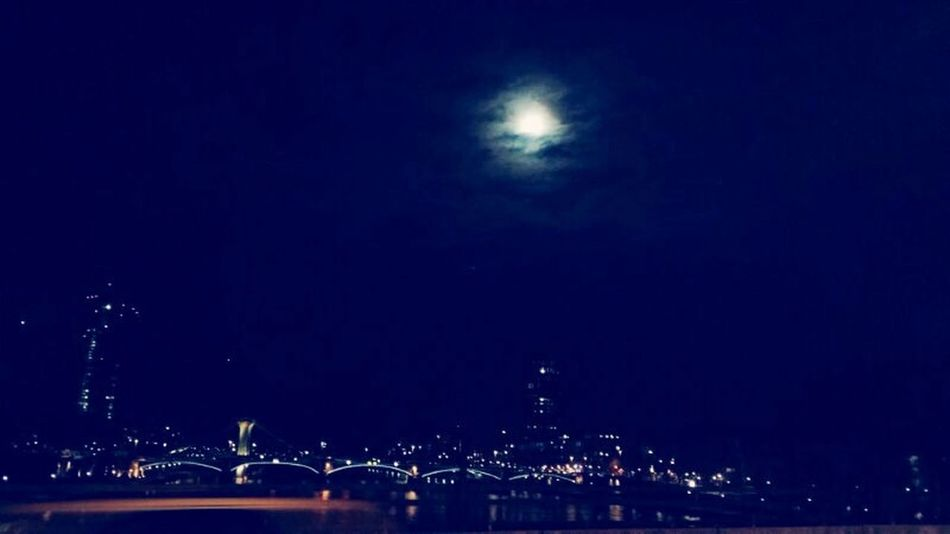 Puente City Skyline Night