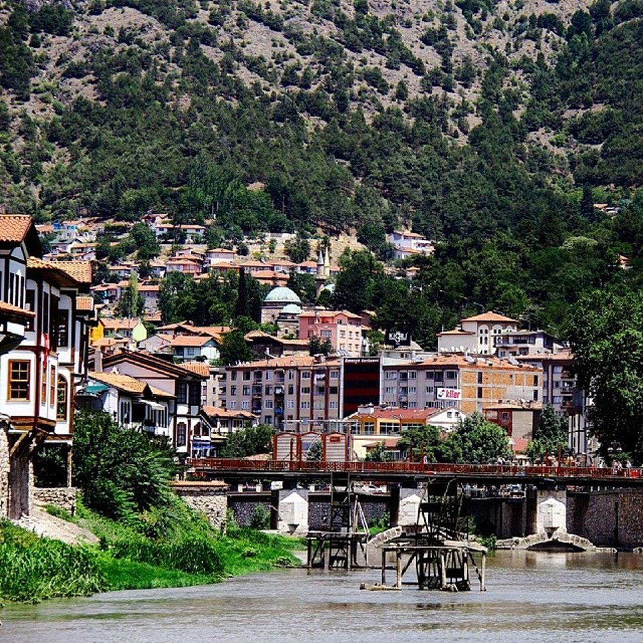 Amasya Tarih  Ev Nehir irmak kopru doğa