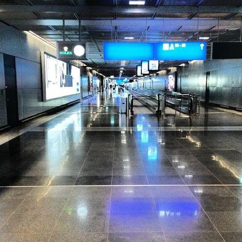 Ein fast menschenleerer Flughafen...der Wahnsinn...ja fast schon unheimlich Fraport Streik
