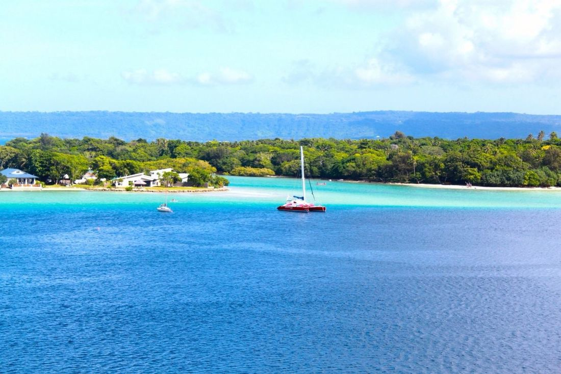 New Caledonia ✌️ Traveling Enjoying The View Beautiful Crystal Clear