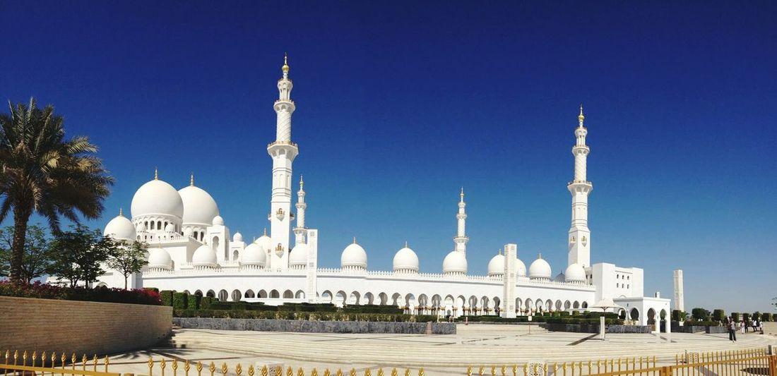 Abu Dhabi Sheik Zayed Mosque Sheikh Zayed Grand Mosque