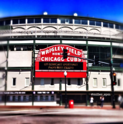 Wrigley Field in Chicago by miller_spm