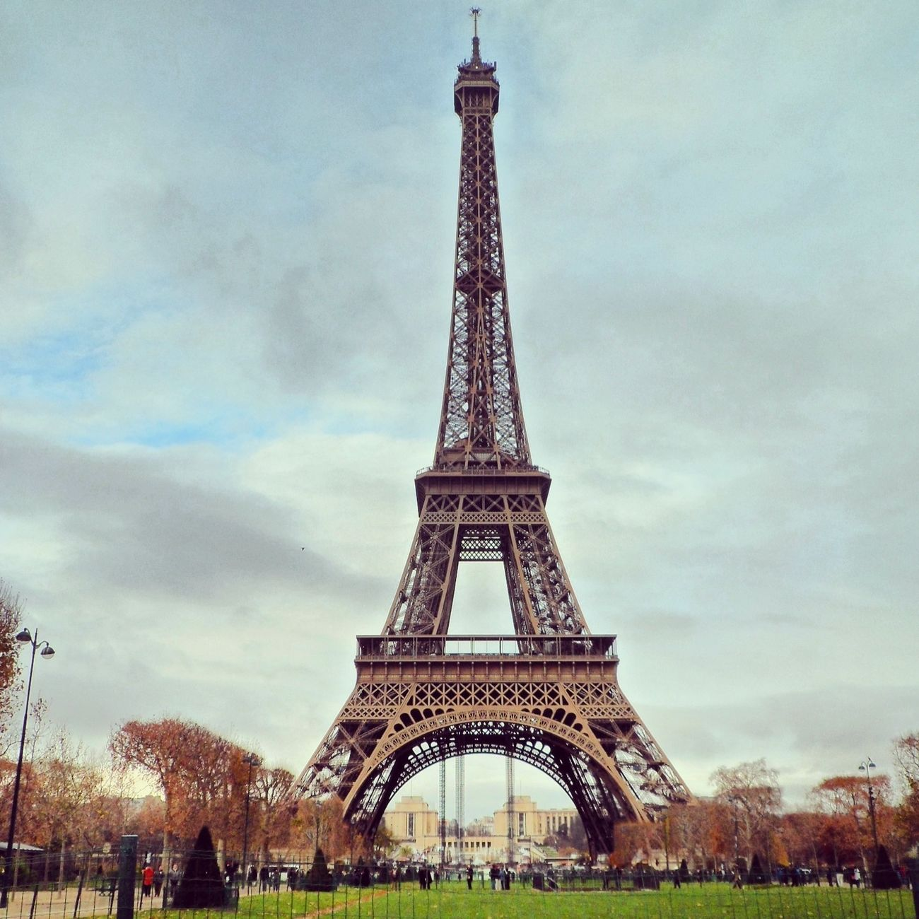Tour Eiffel Paris Beautiful Myownphoto