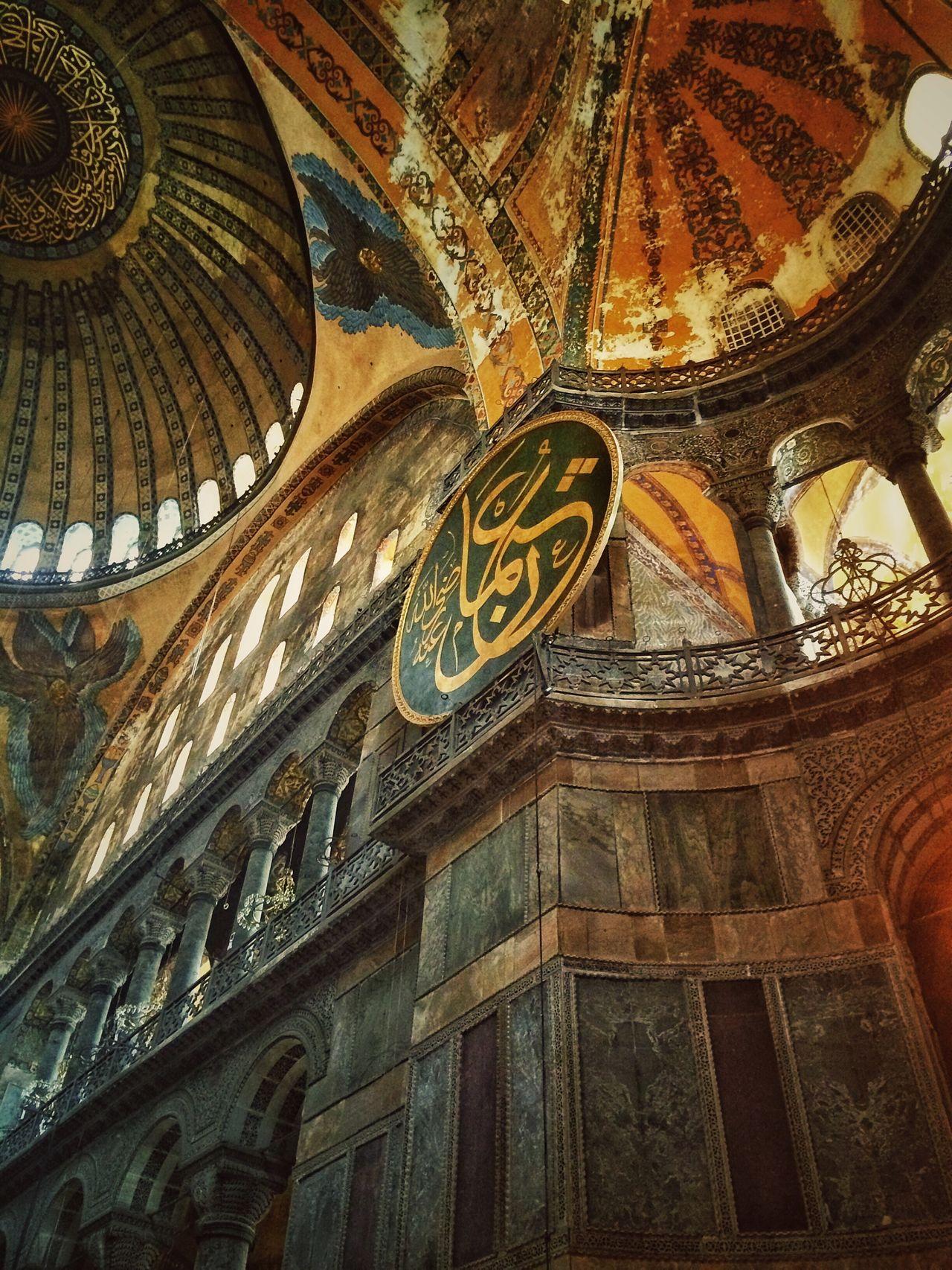Sancta Sofia - Ayasofya Sanctasofia ayasofya IPhoneography Cityscapes Historical Building Historical Monuments Istanbul fractali EyeEm Best Edits Traveling