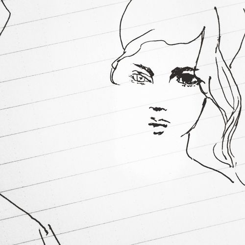 Scribbling DrawingCaradelevingne