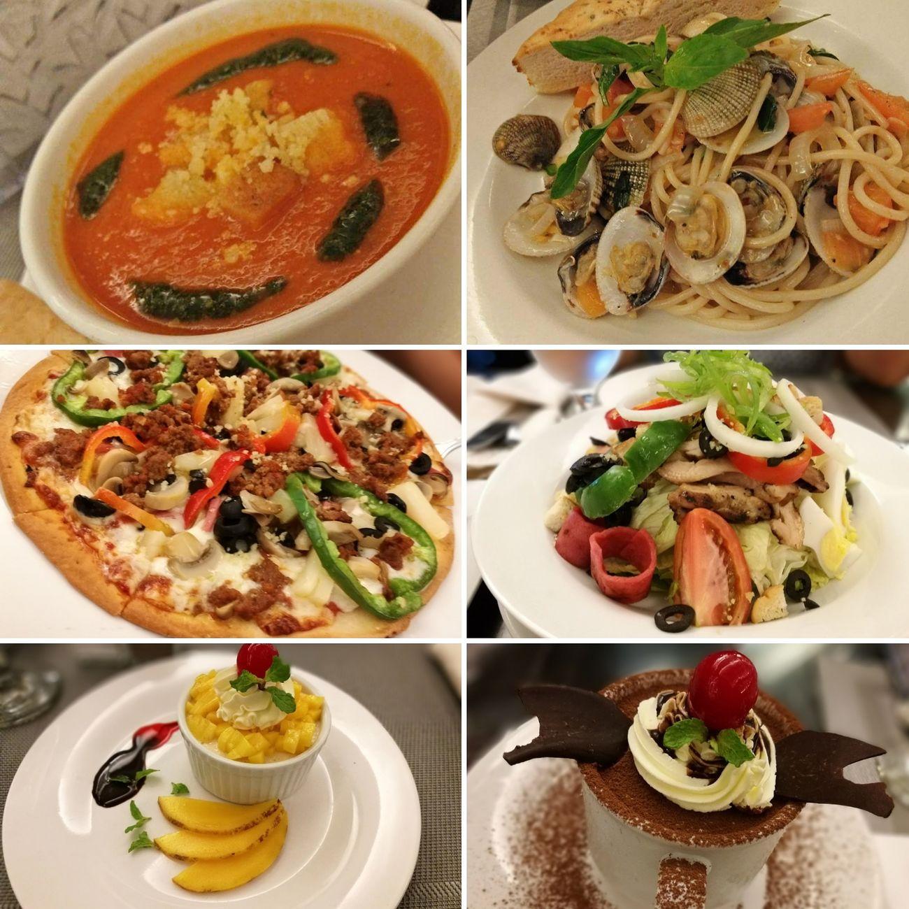 Foods Pizza Pasta Panacota Tiramisu Tomato Capuccino Chef Salad Amore Restaurant Eating Time