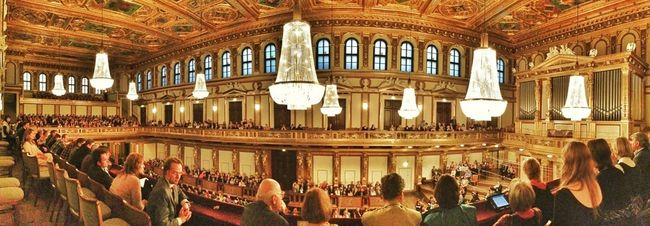 When in Vienna, this is what you do. #wien #vienna #concert #music #musikverein