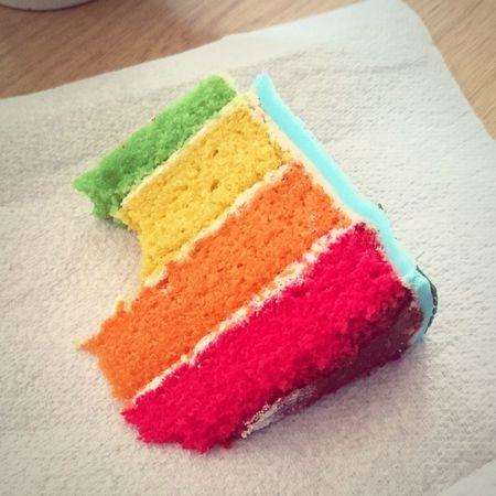 Rainbow cake! Rainbow Cake
