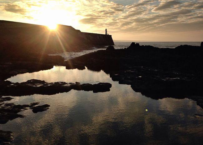 This mornings sunrise Sun Sea Tadaa Community Taking Photos