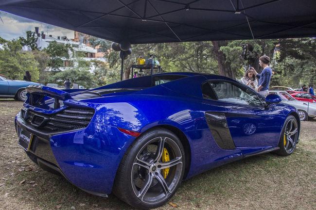 Blue Lamborghini Lamborgini  Land Vehicle Lifestyles Mode Of Transport Outdoors Road