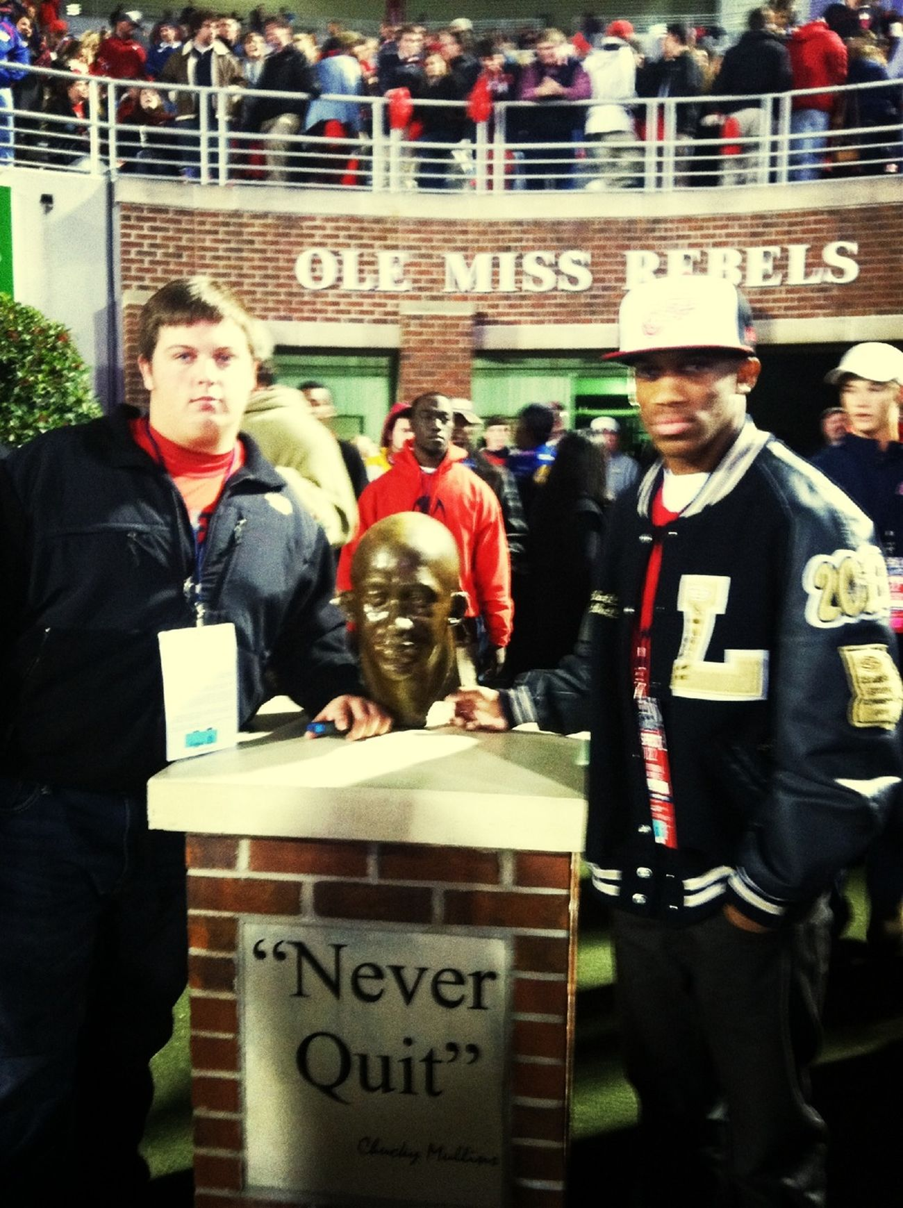 Me & My Boi Beezy At Ole Miss