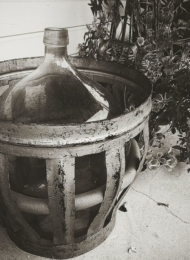 Shades Of Grey Old Bottle Wine Distilling Photographic Memory
