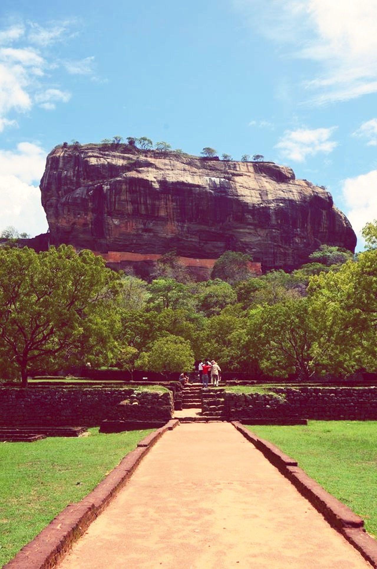 Holiday POV Taken on the way to The Rock of Fortress -Sigiriya, Sri Lanka. Sri Lanka Rockoffortress