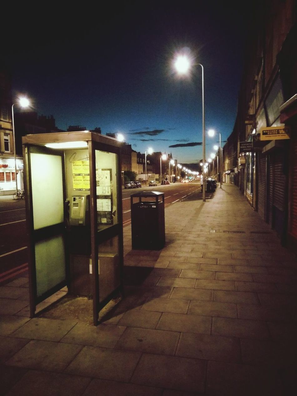 Blue Monday, 2.31am Nightstreetphotography Nightimages Night Sky Emptystreets Bluemonday Aftermath No People Telephone Box Street Life Urbanphotography Longwalkhome Emptiness Edinburgh Leith Walk Solitude Early Morning