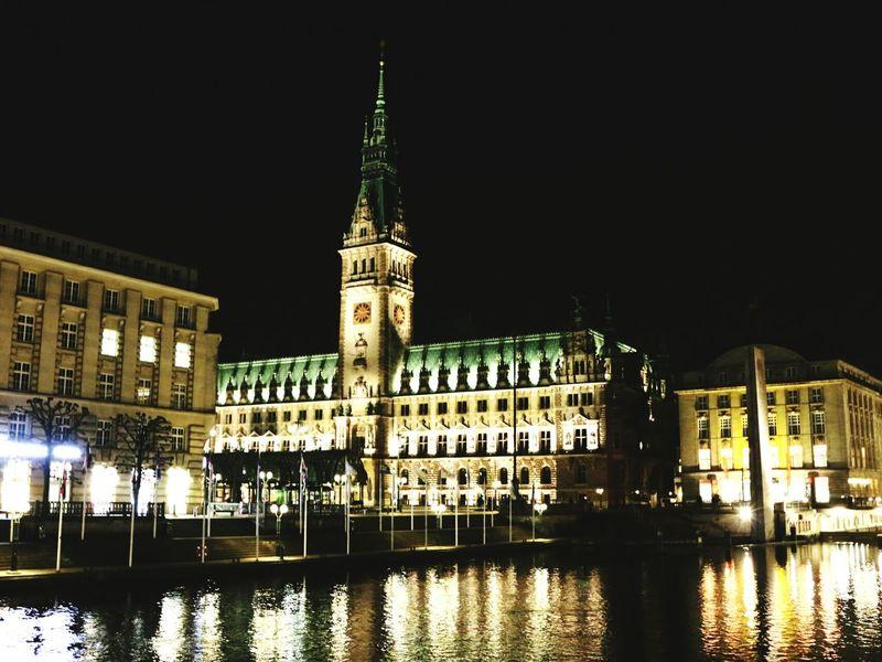 Hamburg Deutschland Nightphotography Cityscapes EyeEm Best Shots Eye4photography  EyeEmbestshots Taking Photos Traveling Travel Photography