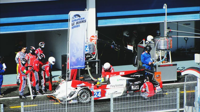 at the pitstop.. At The Pitstop! Autodromo Le Mans 24 Circuit