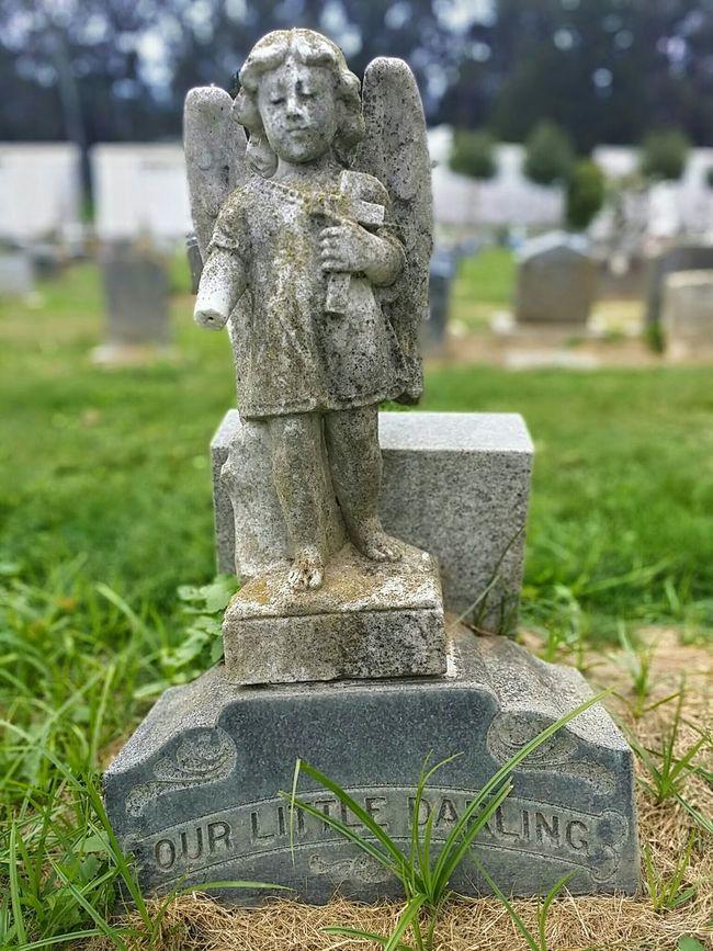Angel Statue Cemetery