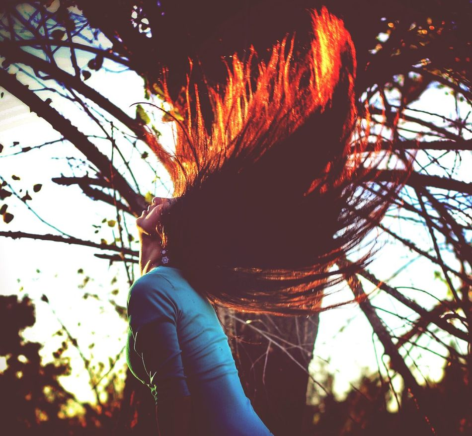 Beauty In Nature Hair One Woman Only Beauty In Nature Nature Photography Verde Chilena