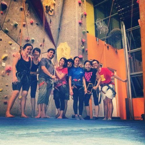 Slhrehab climbers' monday.