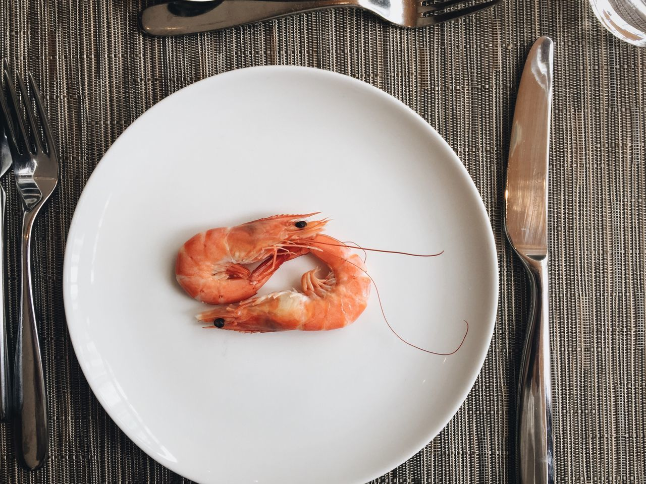 my lunch 😂 Plate Food Food And Drink Freshness Seafood High Angle View Healthy Eating Indoors  No People Tablecloth Ready-to-eat Close-up Day Shrimps Lunch IPhoneography Iphoneonly