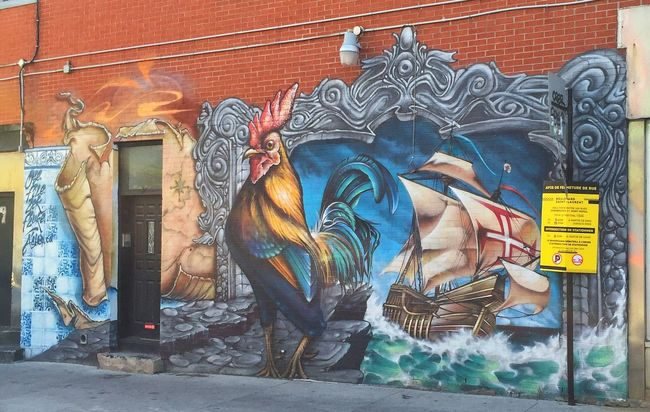 Feel The Journey Mural Portugal Montréal